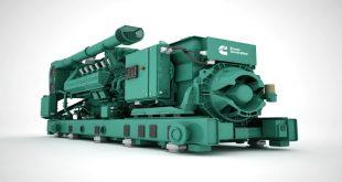 Cummins debuts new gas generator